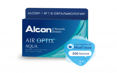 Alcon Air Optix Aqua (6 линз)
