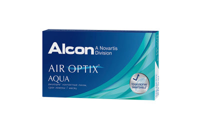 Alcon Air Optix Aqua (3 линзы)