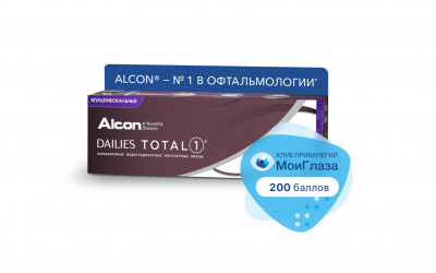 Alcon Dailies Total1 multifocal (30 линз)