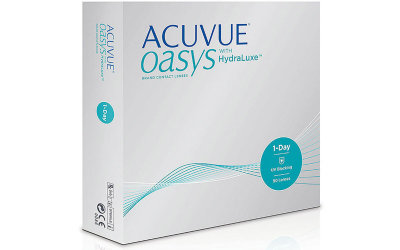 Acuvue Oasys 1-day with hydralux (90 линз)