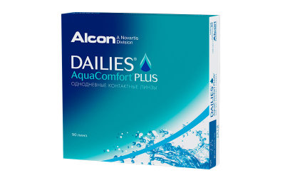 Alcon Dailies Aquacomfort Plus (90 линз)