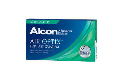 Alcon Air Optix for astigmatism (3 линзы)